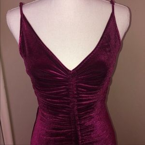 Velvet Fashion Nova Homecoming dress